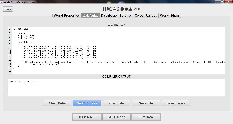 HxCAS Rule Editor