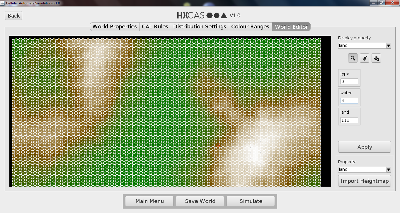 HxCAS World Value Editor