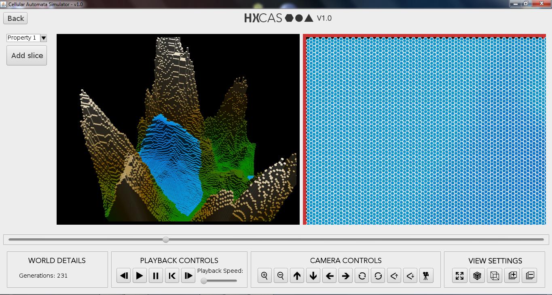 HxCAS Simulation